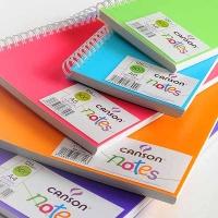 Skizzenbuch Canson Notes, farbig sortiert, A4