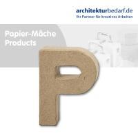 Buchstabe Papier-Mâché - P