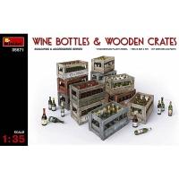 Wine Bottles, Scale 1:35