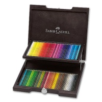 Polychromos Color Pencils - Wooden Case with 72 Colors