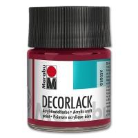 Decorlack Acryl glossy - Nr. 032 karminrot