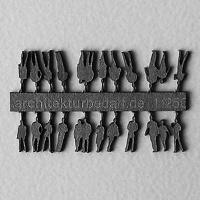 Figures, 1:250, dark grey