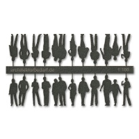 Figures, 1:100, dark grey