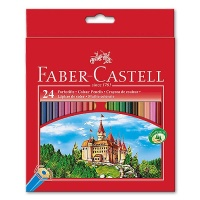 Colored Pencil Castle, 24 pcs. in Etui
