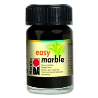 Easy Marble 15 ml schwarz 073