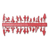 Figure Set Children, 1:200, light red