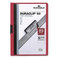 Clip Folder Duraclip 60 - A4 red