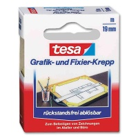 Tesa Graphic and Fixing Crepe Tape 19 mm x 25 m