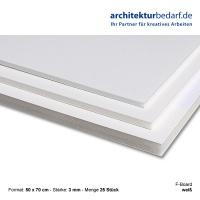 F-Board 50x70cm, Stärke 3mm