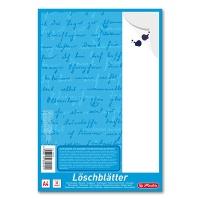 Löschblätter DIN A4 Herlitz 382408