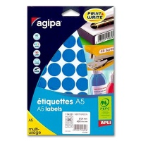 agipa Marking Points, Ø 24 mm, blue