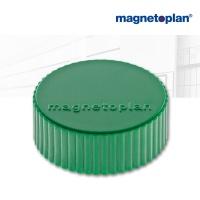 magnetoplan Discofix Rundmagnete magnum, grün
