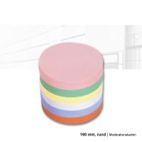 magnetoplan Moderationskarten rund, Durchmesser: 190 mm