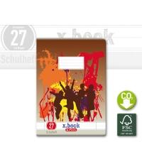 Herlitz Exercise Book Lin. 27 A4
