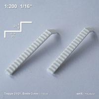 Treppe 21/21 Breite 3,0 mm