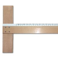 Zeichenschiene Holz 70 cm
