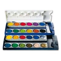 Watercolour Paint Box, 24 Colors
