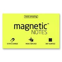 Magnetic Notes gelb 100 x 70 mm