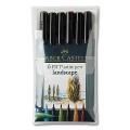 Artist Pen, Landscape, 6 pcs.
