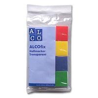 Alcofix Haftnotizen Transparent farbig