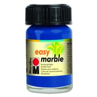 Easy Marble 15 ml ultramarinblau 055