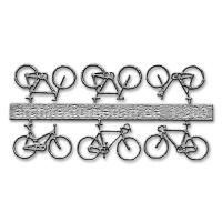 Bicycles, 1:200, lightgrey