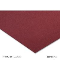 Laserkarton 48 x 63 cm, scarlet
