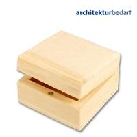 Holzkästchen / Schmuckschatulle aus Kiefernholz