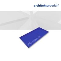 Plexiglas® GS transparent satiniert sky blue