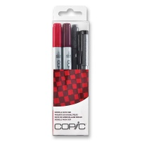 Copic Ciao Doodle Pack rot 4er Set