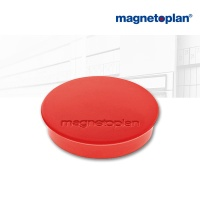 magnetoplan Discofix Rundmagnete standard, rot