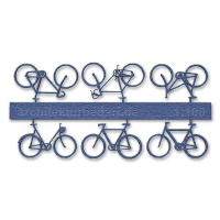 Bicycles 1:100, blue