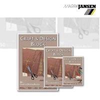 Craft & Design Block  braunes Kraftpapier