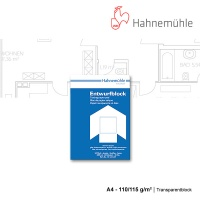 Transparentblock A4 - 110/115 g/m²