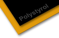 Polystyrene Colored