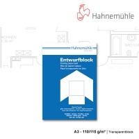 Transparentblock A3 - 110/115 g/m²