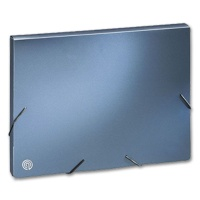 Folder A4, metallic blue