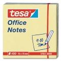 Tesa Office Notes, yellow, 75 x 75 mm