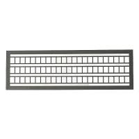 Leitern 5 x 102 mm grau