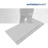 Präzisions-Acrylglas satiniert warmgrau