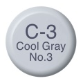 COPIC Ink Typ C3 cool gray No.3