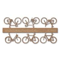 Bicycles, 1:100, lightbrown