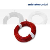 Kupferschaltlitze rot - extra dünn