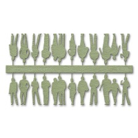 Figures, 1:100, light green