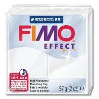 Fimo Effect Transparentfarbe 014 weiß transluzent