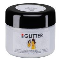 Marabu Glitter transparent 181 Silver Dust