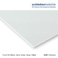 Whiteboard 75 x 100 cm 1,5 mm