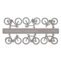 Bicycles, 1:100, lightgrey