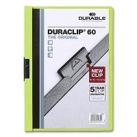 Klemmmappe Duraclip 60 - A4 grün