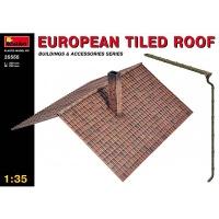 Tiled Roof, Scale 1:35